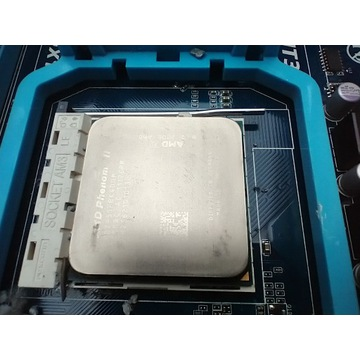 AMD Phenom II X4 955 Black + płyta główna + RAM