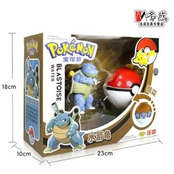 Pokeball Clip Składana figurka Pokemon Blastoise