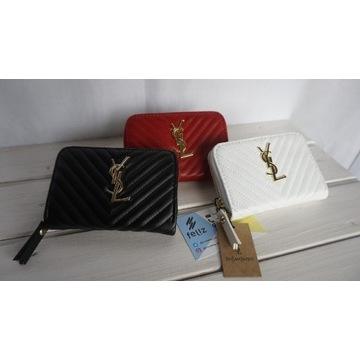 Portfel YSL w firmowym pudełku