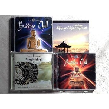 Buddha Chill x 2 CD + Feng shui + gratis nowa CD !