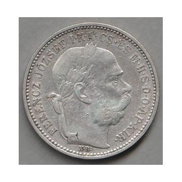 Austro-Węgry 1 korona 1895 - Ferencz Jozsef - Ag