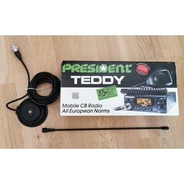 CBradio President TEDDY + antena President FLORIDA