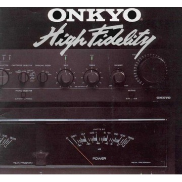 Katalog ONKYO z 1981