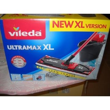 nowe wiadro vileda + mop ultramax xl