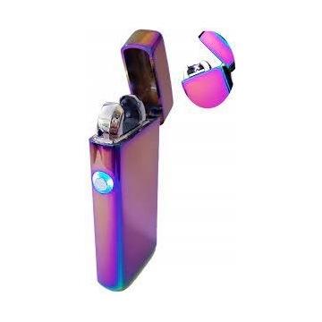Zapalniczka USB plazmowa tęczowa super prezent