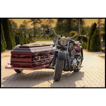 MOTOCYKL POGRZEBOWY YAMAHA DRAG STAR 1100