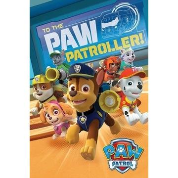 Plakat Psi patrol - To The Paw Patroller 61,5x91