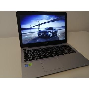 ASUS A555l i5-5200U GF920m 12GB RAM SSD+HDD Win10