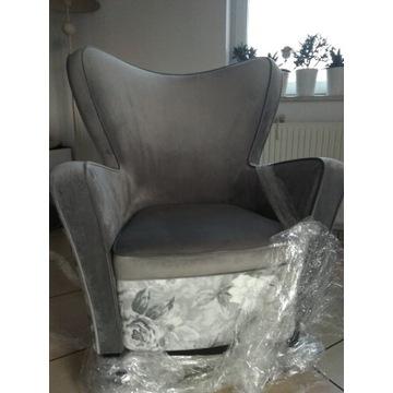 Fotel uszak nowy robiony na zamówienie