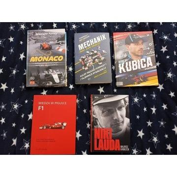 Książki i Formule 1