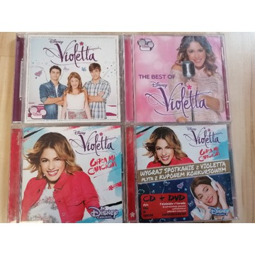 Piosenki Violetta  4 płyty