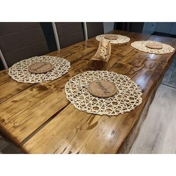 Stół drewniany lite drzewo