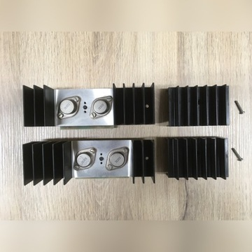 Radmor 5102 TE końcówki mocy P + L