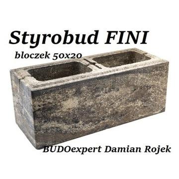 Ogrodzenie STYROBUD FINI bloczek pustak gładki HIT