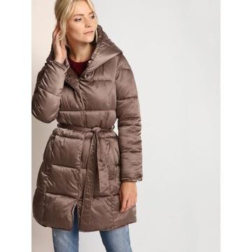 TOP SECRET - Ciepła dłuższa pikowana kurtka __36