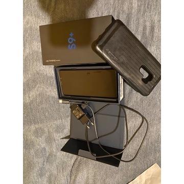 Samsung s9 plus coral blue  plus spigen