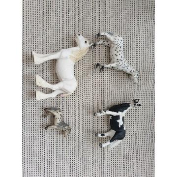 4 figurki koni Schleich