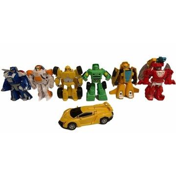 Transformers Rescue Bots zestaw 6 figurek