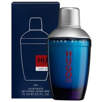 HUGO BOSS DARK BLUE woda toaletowa EDT 72/75 ML