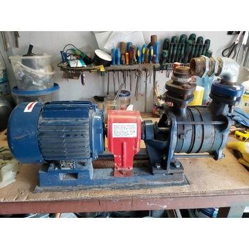 Pompa i silnik trójfazowy