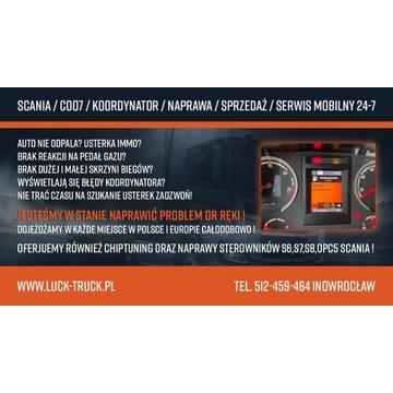 Naprawa Serwis mobilny 24h Coo7 Koordynator Scania
