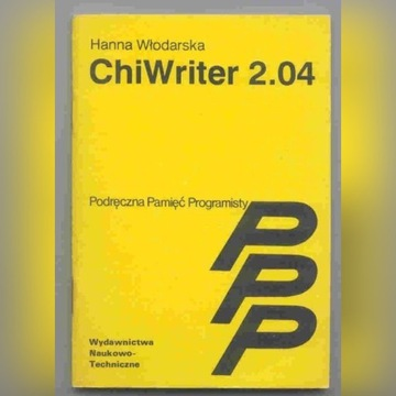 Włodarska - Chiwriter 2.04. Seria PPP