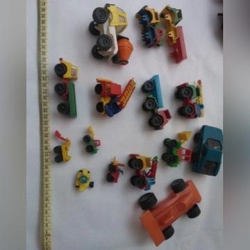 samochody zabawki plastikowe