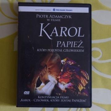 """DVD """"Karol - Papież, który pozostał człowiekiem"""""""