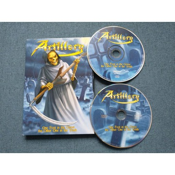 Artillery - One Foot in the Grave CD + DVD