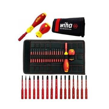 Zestaw wkrętaków dla elektryka WIHA 18 elementów