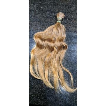 Włosy dziewicze (kolor #7) 40-42cm 59gr