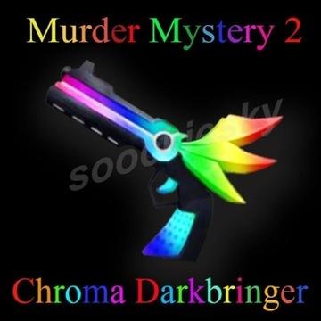 ROBLOX Murder Mystery 2 Chroma Darkbringer