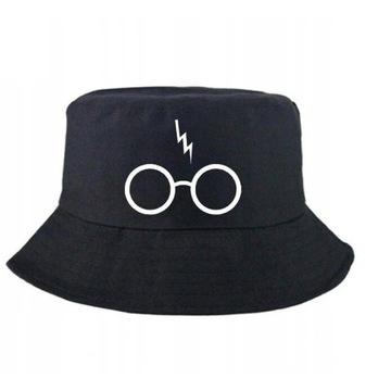 Kapelusz Wędkarski Czarna Czapka Harry Potter