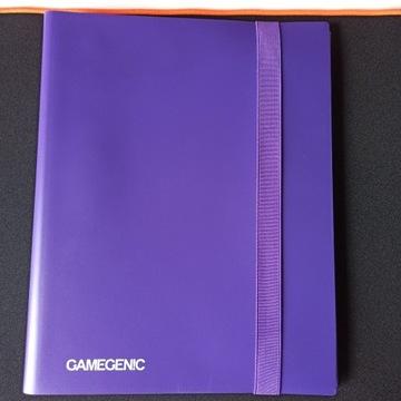 Gamegenic casual album 18-pocket purple fioletowy