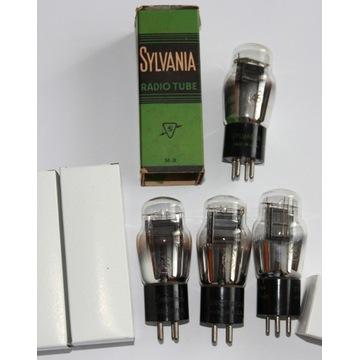4 lampy 45 Sylvania, Arcturus, Philco, Radiotron!