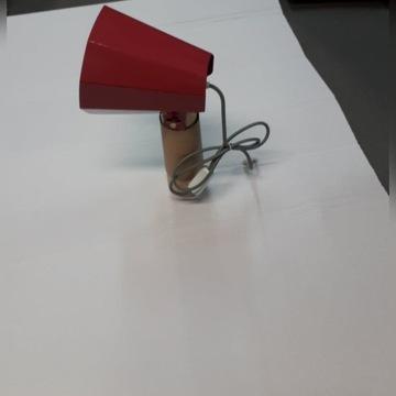 Lampa stołowa Eno Studio Brother, czerwona Lampka