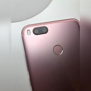 Smartfon xiaomi mi a1, sprawny, 32GB, pudrowy róż