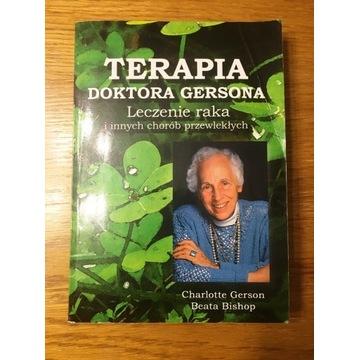 Terapia doktora Gersona Leczenie raka