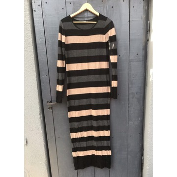 Sukienka sweterek długa 36 s