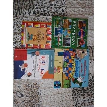 Książki edukacyjne dla dzieci i bajki 9 sztuk