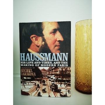 Książka Haussman Michel Carmona
