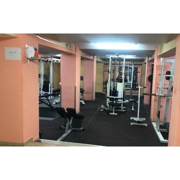 Cała siłownia/wyposażenie siłowni/solarium/fitness