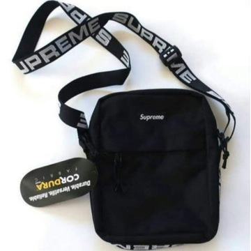 Shoulder Bag SS18 SUPREME Czarny