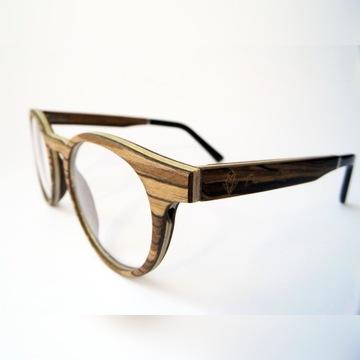 DESIGNERSKIE oprawki okulary z drewna HIT 2020