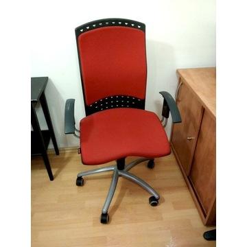 Krzesło biurowe obrotowe SITAG REALITY, czerwone
