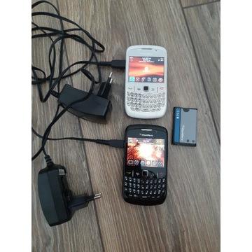 2x Blackberry Curve z ładowarkami (i bateria)