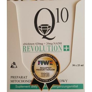Koenzym Q10 12600mg +600 mg NADH/30ampułek/płynny