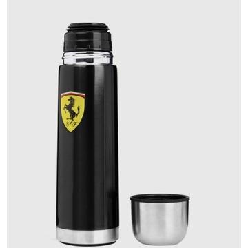 Termos metalowy czarny Ferrari F1 Team Wyprzedaż !