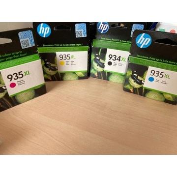 Zestaw tuszy oryginalnych HP 935XL, 934XL