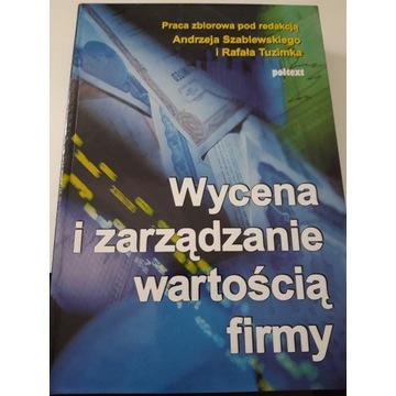 Wycena i zarządzanie wartością firmy Szablewskiego